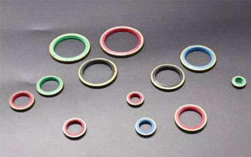 High temperature resistant fluorine rubber O-ring
