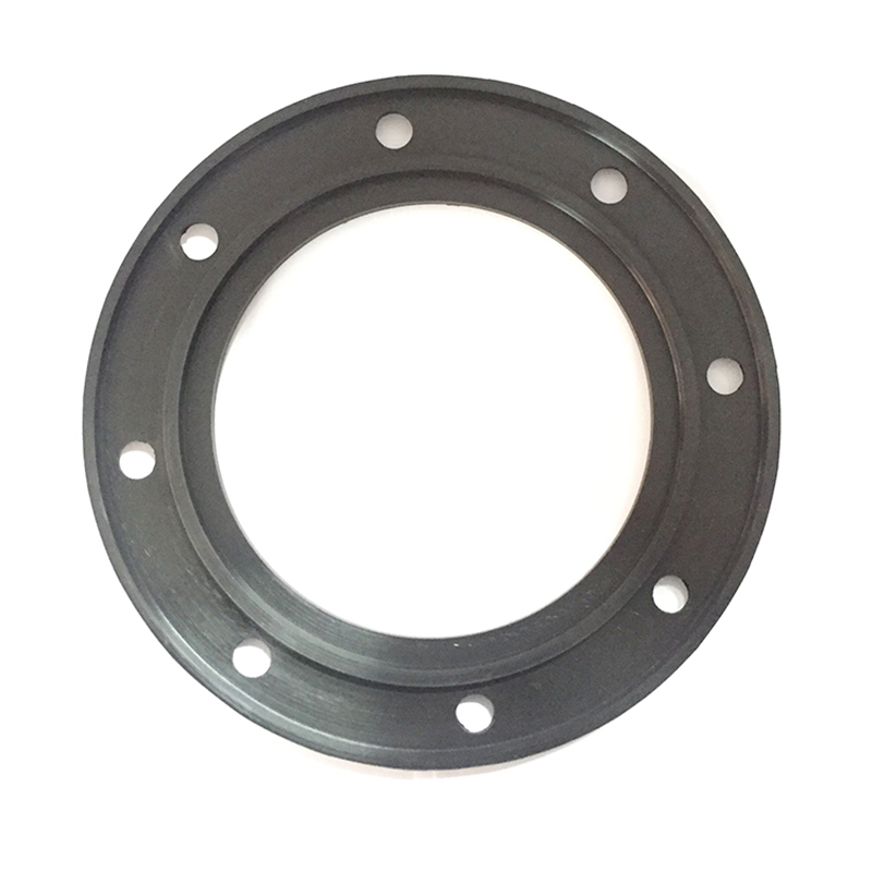 Customized shape FKM EPDM NBR pipe flange gasket