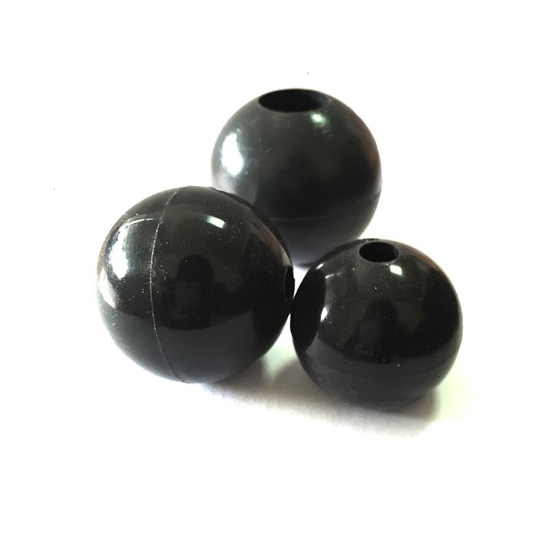 Liquid mirror polishing Silicone ball with hole