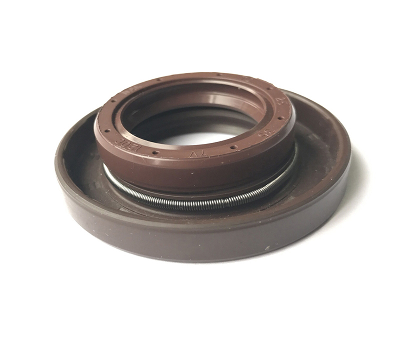 What are the temperature resistance of nitrile rubber seals?