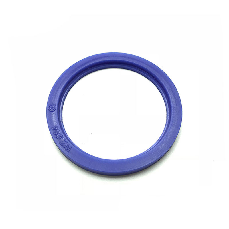 Different standard sizes blue ferrule silicon clamp gasket