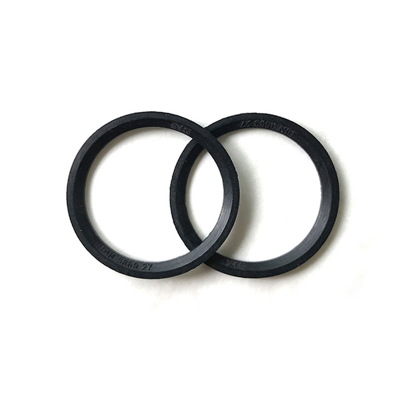 ED flat rubber ring for screw