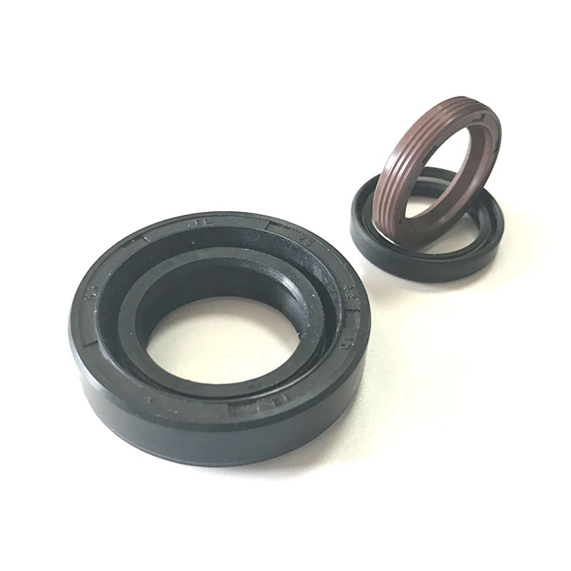Summarize the types and structures of rubber materials