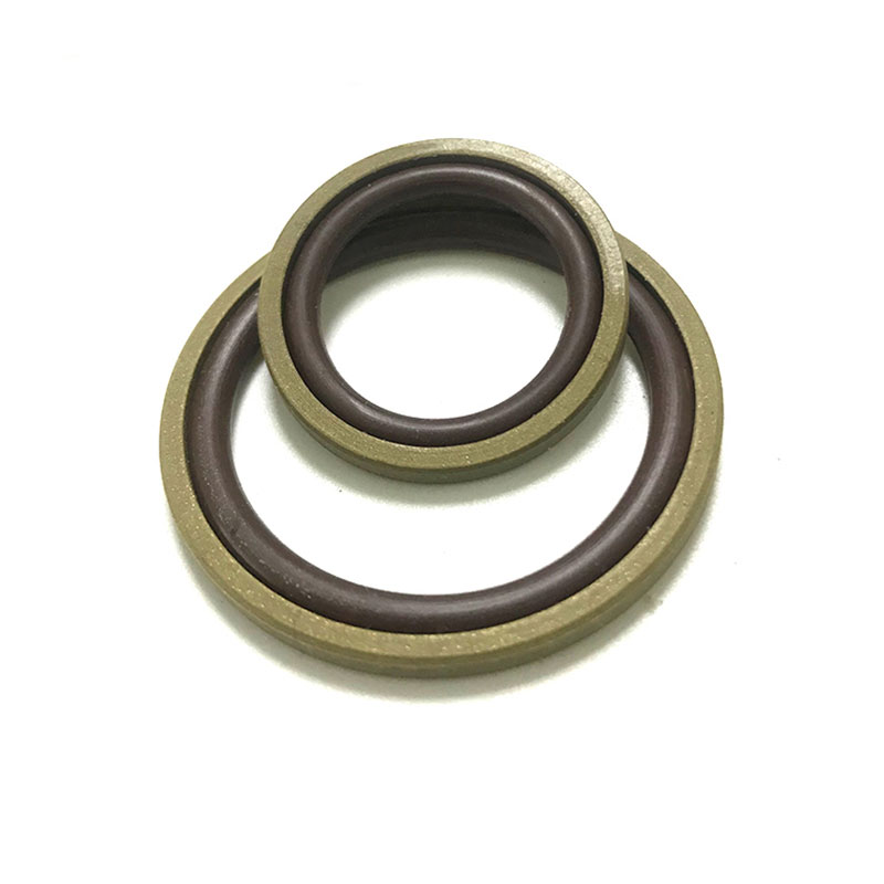 PTFE+copper gasket and NBR O ring combined seal