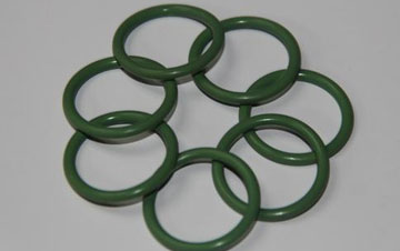 Wear-resistant rubber O-ring