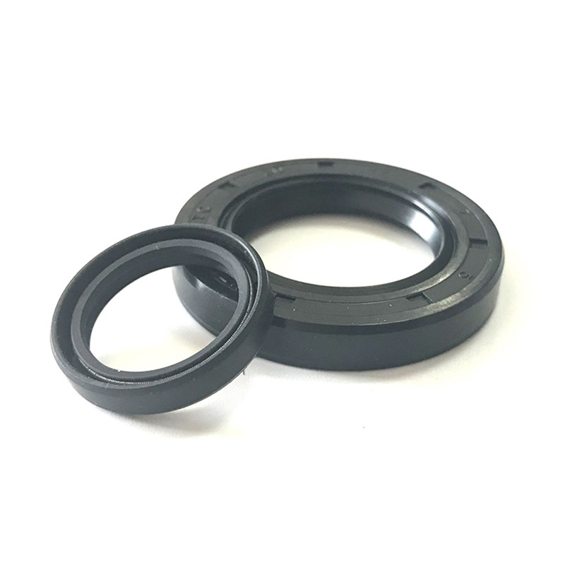 Oil resistant standard NBR nitrile TC double-lip oil seal